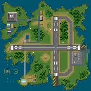 Isla Pilotwings SNES