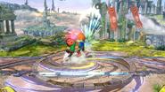 Karateka Mii usando Patadas relámpago (3) SSB4 (Wii U)