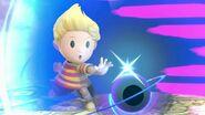 Lucas usando Imán PSI SSBU