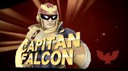 Pose de victoria de Captain Falcon (1-2) SSB4 (Wii U)