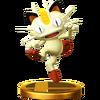 Trofeo de Meowth SSB4 (Wii U)