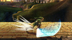 Ataque Smash lateral Link SSBB (1)