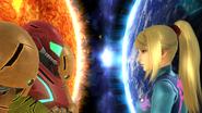 Créditos Modo Senda del guerrero Samus Zero SSB4 (Wii U)