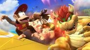 Explosion de la Cacahuetola SSB4 (Wii U)