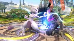 Golpiza Mewtwo SSB4 (Wii U)