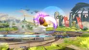 Karateka Mii usando Patadas destructoras (2) SSB4 (Wii U)