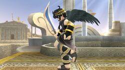 Pose de espera 2 Pit Sombrío SSB4 (Wii U)