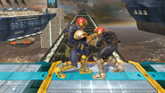 Agarre normal de Captain Falcon (2) SSB4 (Wii U)