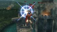 Ataque aéreo inferior de Ike (1) SSB4 (Wii U)
