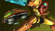 Créditos Modo Senda del guerrero Samus SSB4 (3DS)