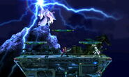 Efecto de Ramuh en Midgar (2) SSB4 (3DS)