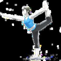 Entrenadora de Wii Fit SSB4 HD