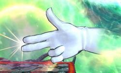 Master Hand Pistola (1) SSB4 (3DS)