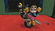 Moto Wario (3) SSB4 (Wii U)