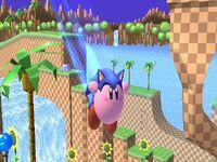 Sonic-Kirby 2 SSBB
