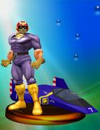 Trofeo de Captain Falcon SSBM