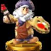 Trofeo de Vince SSB4 (Wii U)