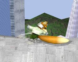 Ataque fuerte hacia abajo de Fox SSBM