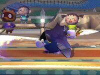 Ataque fuerte lateral Meta Knight SSBB (2)