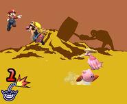 Prueba ¡Salta! de WarioWare SSBB