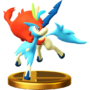 Trofeo de Keldeo SSB4 (Wii U)
