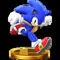 Trofeo de Sonic SSB4 (Wii U)