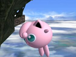 Ataque aéreo hacia abajo Jigglypuff SSBB (2)