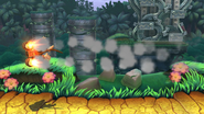 Barriles retropropulsados (2) SSB4 (Wii U)
