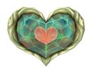 Pegatina de Pieza de Corazón SSBB
