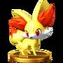 Trofeo de Fennekin SSB4 (Wii U)
