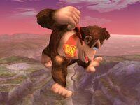 Ataque aéreo superior Donkey Kong SSBB