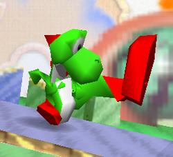 Ataque normal de Yoshi (1) SSB