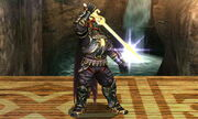 Burla inferior Ganondorf SSB4 (3DS)