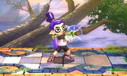 Burla superior Tirador Mii SSB4 (3DS)
