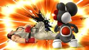 Créditos Modo Leyendas de la lucha Ryu SSB4 (Wii U)