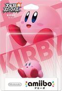 Embalaje del amiibo de Kirby (Japón)