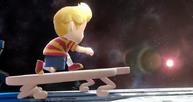 Lucas entrando en la Estacion espacial SSB4 (Wii U)