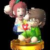 Trofeo de Mendel y Petunia SSB4 (3DS)