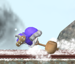 Ataque Smash lateral de Ice Climbers (2) SSBM