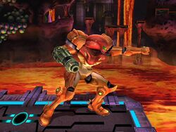 Ataque normal (1) Samus SSBB