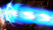 Samus usando el Laser Zero Wii U SSB4