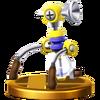 Trofeo de F.L.U.D.D. SSB4 (Wii U)