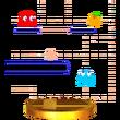 Trofeo de Pac-Maze SSB4 (3DS)
