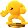 Trofeo de Yellow Devil SSB4 (Wii U)