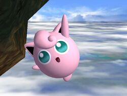 Ataque aéreo hacia arriba Jigglypuff SSBB
