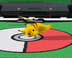 Ataque fuerte lateral de Pikachu SSBM