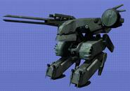 Pose T Metal Gear REX SSBB