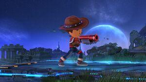 Pose de espera (1) Tirador Mii SSB4 Wii U