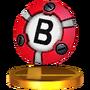 Trofeo de Bomba inteligente SSB4 (3DS)