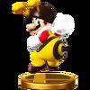 Trofeo de Mario abeja SSB4 (Wii U)